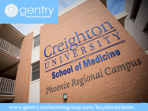 Booming population growth and a robust economy fuels Nebraska-based Creighton University's decision to build a new $100 million medical university in Central Phoenix